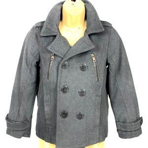 URBAN REPUBLIC- Wool Blend Pea coat- girls